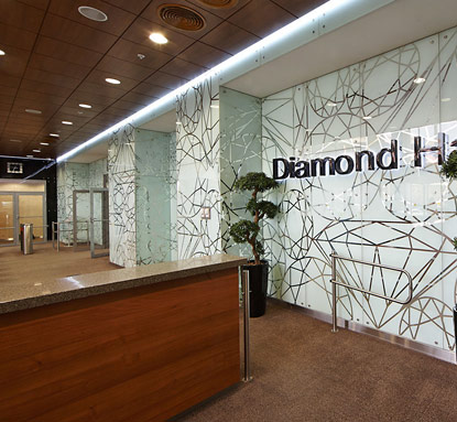 Рецепция Diamond Hall