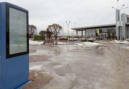 Информационный терминал с интерактивным гидом в Киришах