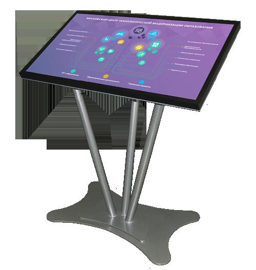 Интерактивная демонстрационная система на сенсорном киоске в ТемоЦентре