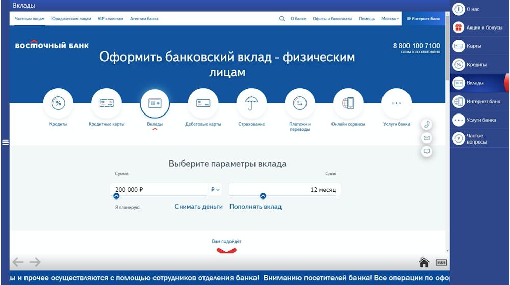 Пример отображения страниц сайта в браузере терминала