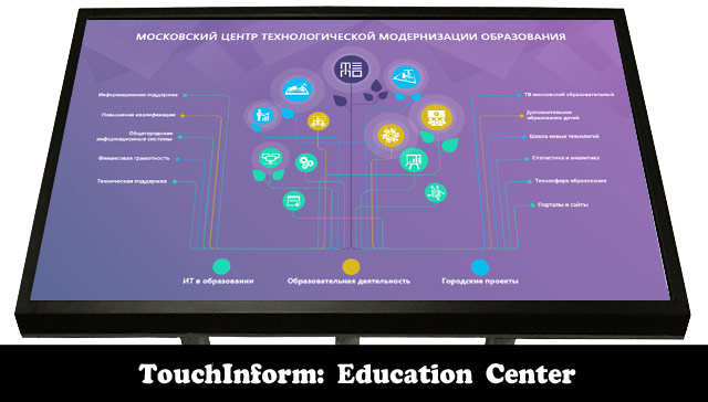 «TouchInform: Education Center Kiosk»
